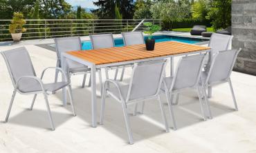 Table extérieure polywood Palma 190 cm