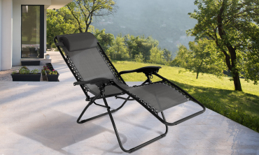 Fauteuil Relax multipositions - Gris