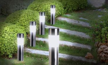 Bornes tubes solaires - lot...