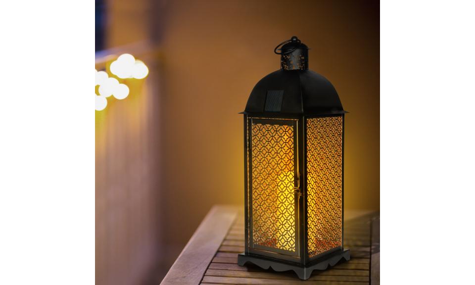 Lanterne solaire marocaine