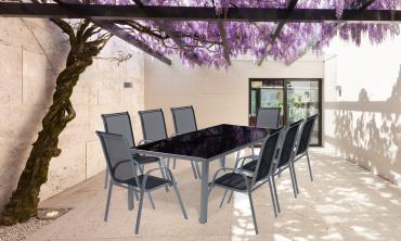 Salon de jardin 8 places Majorca